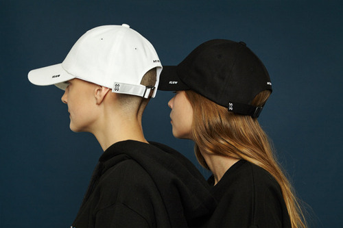 X buckle cap (black)